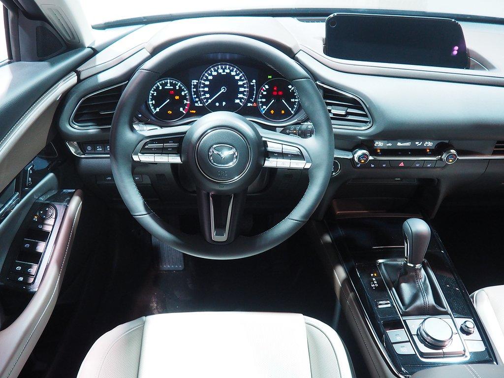 Mazda CX-30 COSMO 2.0 Automat 180hk AWD OFF-White 2020