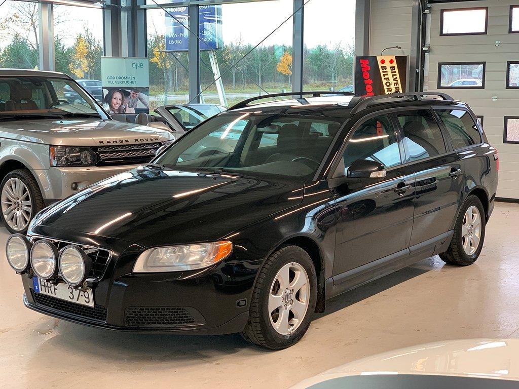 Volvo V70 D5 AWD 185hk, Drag, Motorvärmare,