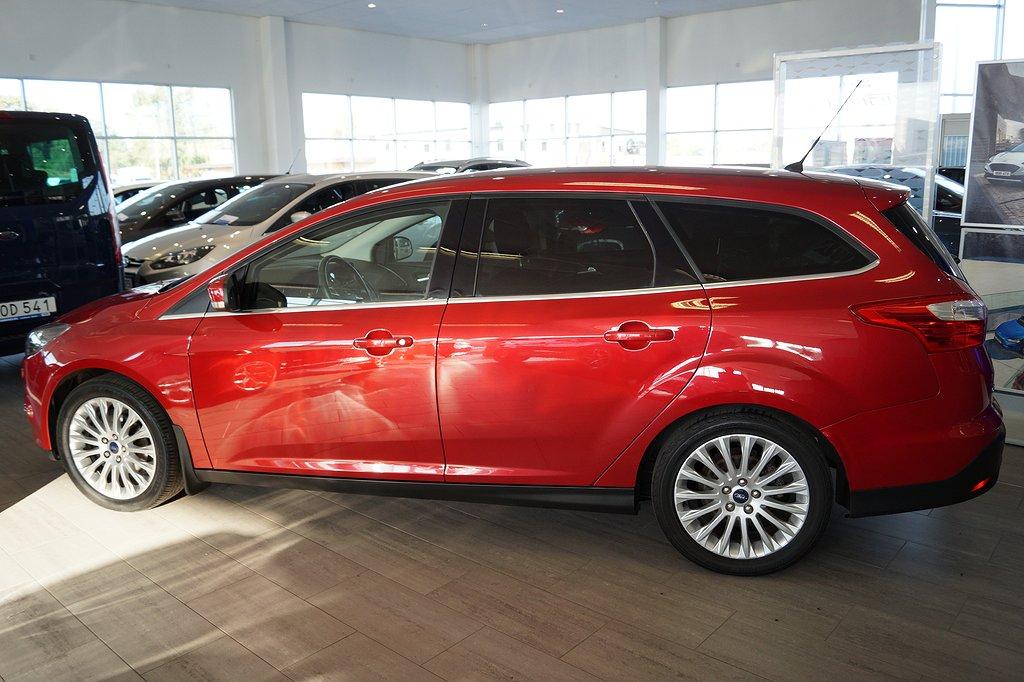 Ford Focus 1.0 EcoBoost 100hk Titanium kombi, Drag