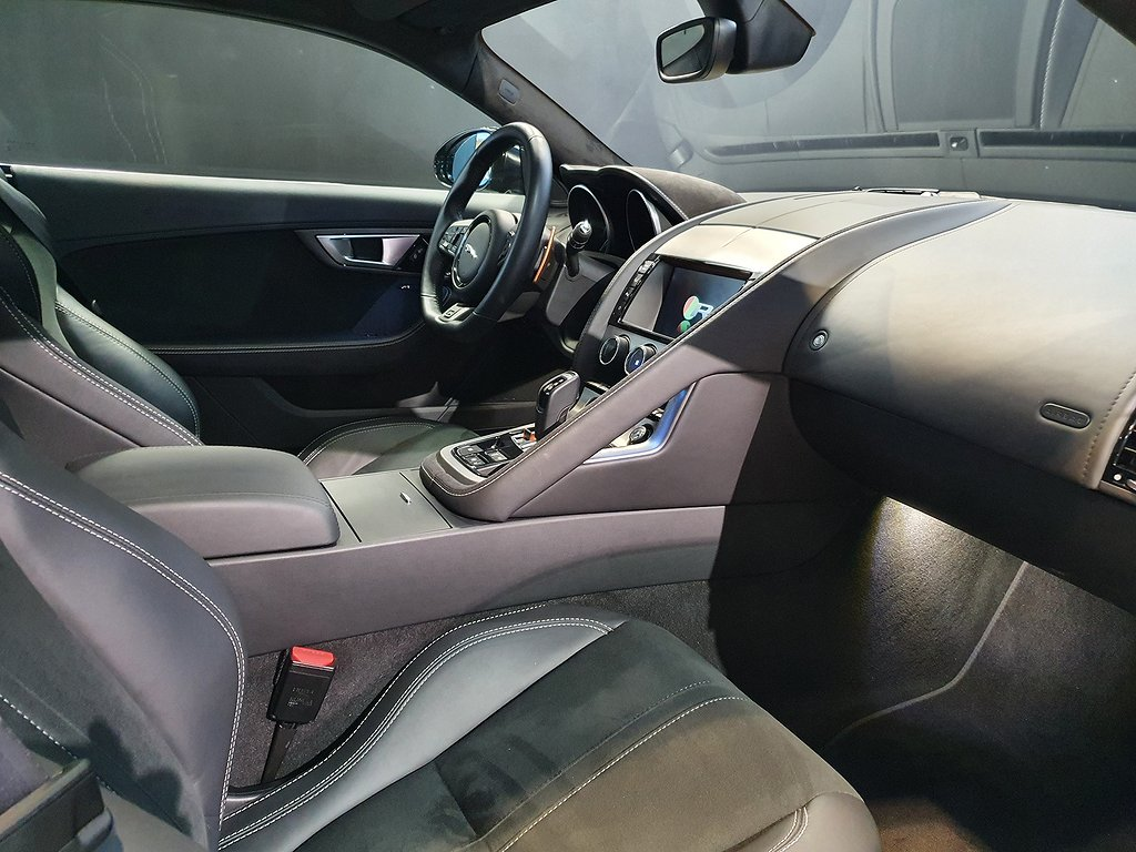 Jaguar F-Type R Coupé 550hk