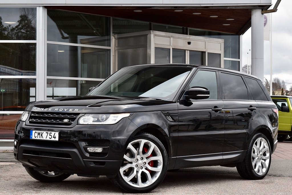 Land Rover Range Rover Sport SDV8 HSE PANORAMA VÄRMARE 340hk
