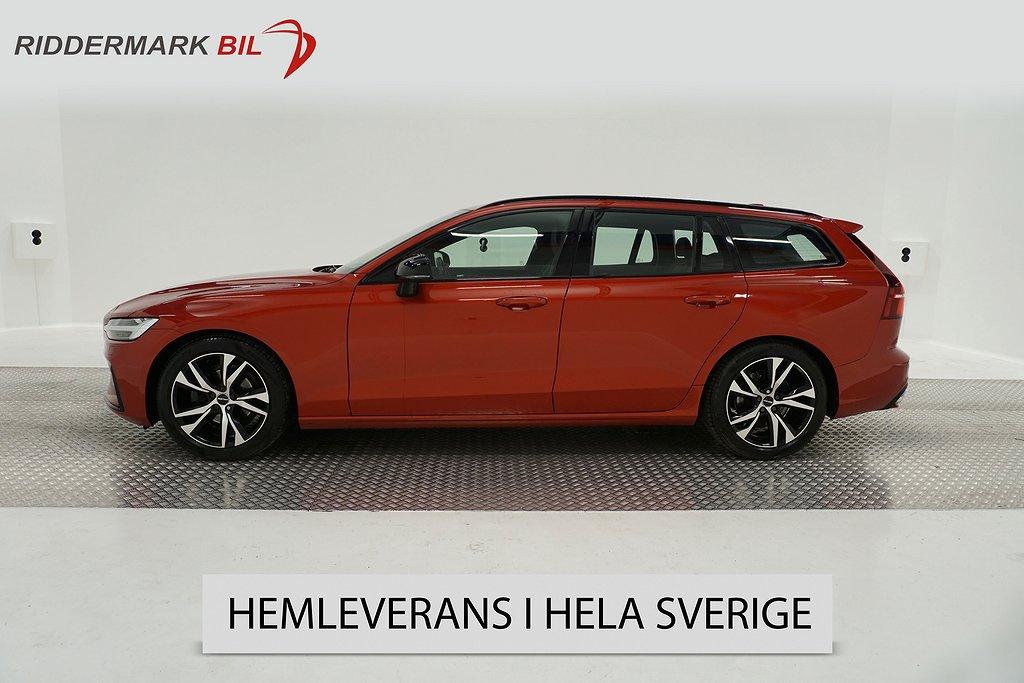 Volvo V60 D4 190hk Geartronic R-Design Eu6 Pano  Adaptiv BLIS Drag Skinn