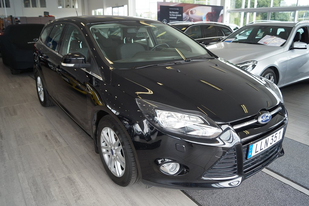 Ford Focus *2.95%ränta*Titanium 2.0 TDCi 115hk Aut*Drag 1450kg*