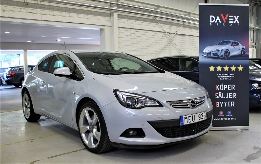 Opel Astra GTC 1.6 Turbo 180hk