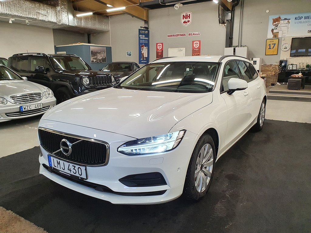 Volvo V90 D4 AWD Geartronic Kinetic, Business Euro 6 190hk