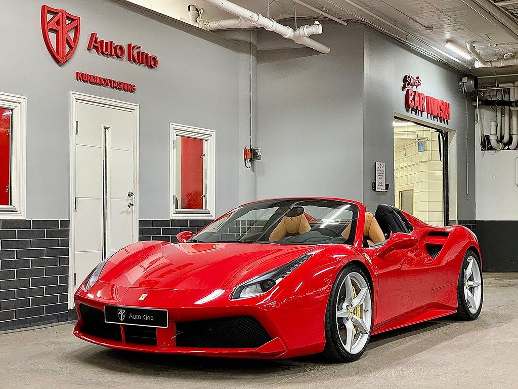 Ferrari 488 GTS SPIDER 3.9 V8 LIFTING P-DISPLAY 670hk