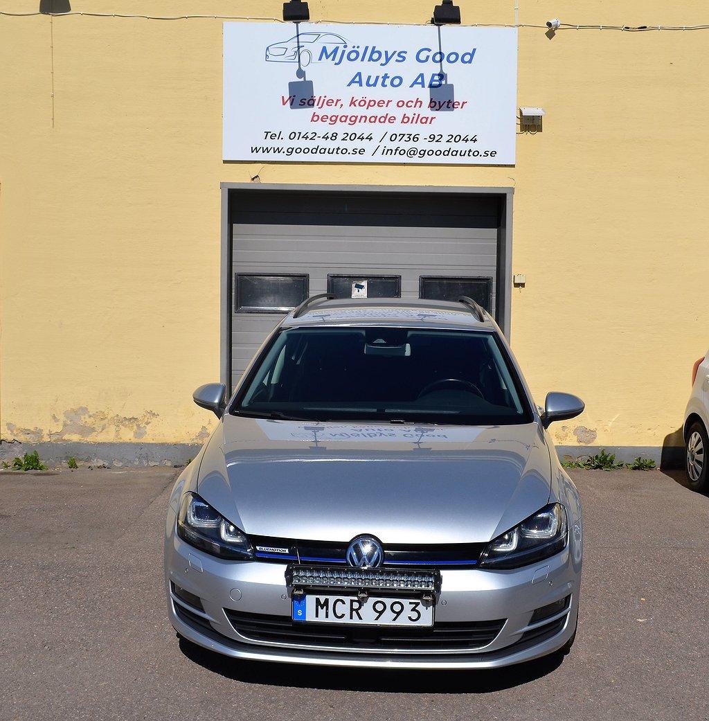 Volkswagen Golf Sportscombi 1.4 TGI CNG DSG Sekventiell Premium