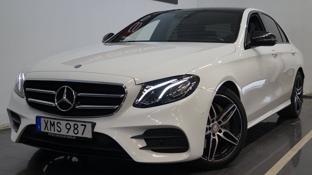 Mercedes-Benz E 220 d Widescreen I AMG Night I GPS I Drag I 194hk