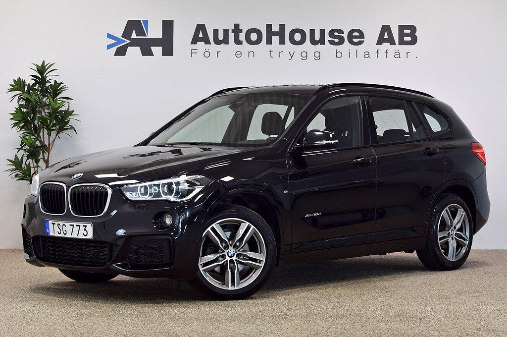 BMW X1 xDrive18d M Sport-paket 1-ägare Backkamera Garanti