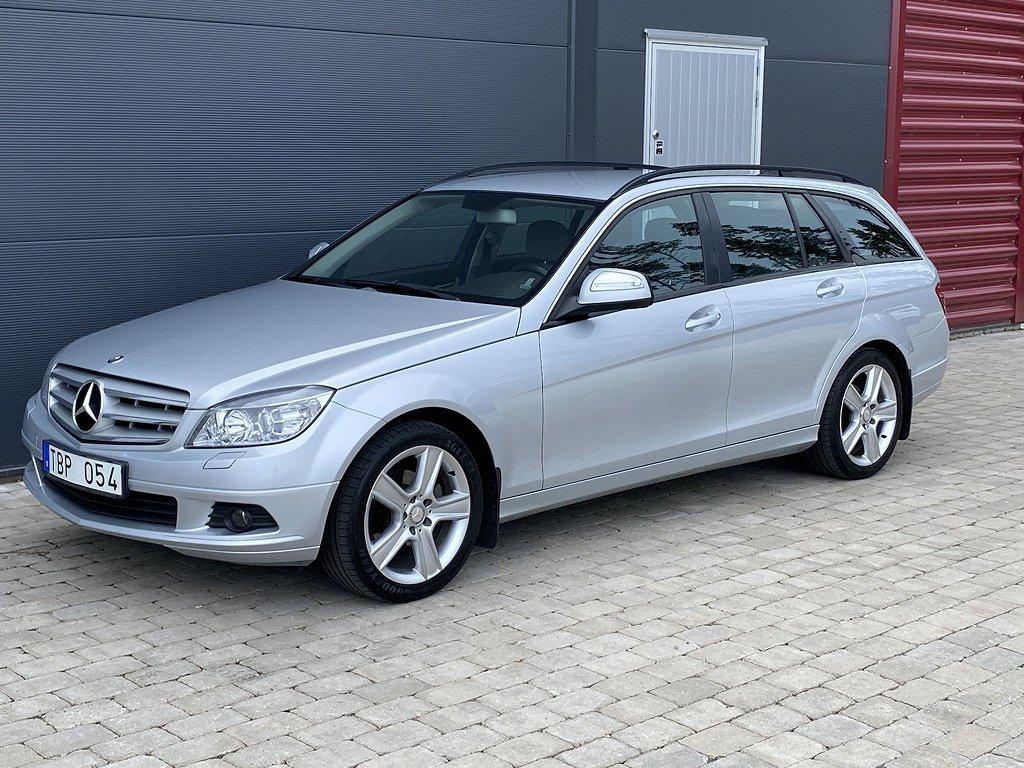 Mercedes-Benz C 200 T CDI 5G-Tronic / Dragkrok