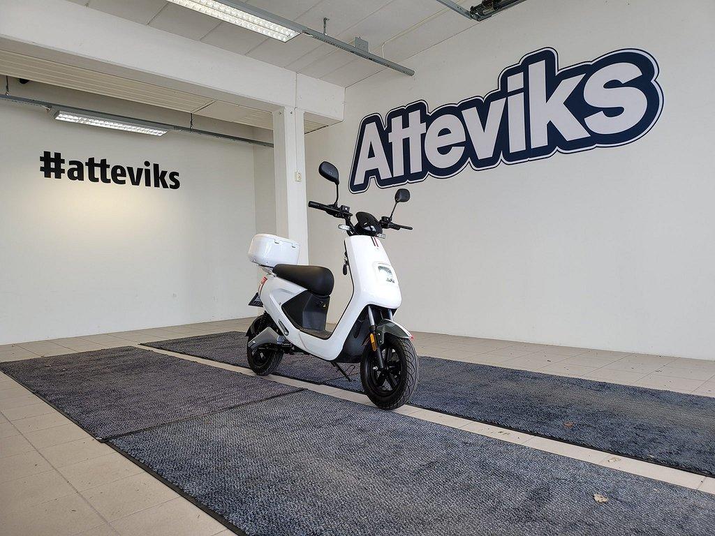 LV LX04 Elektrisk Moped (50-120Km) 3-Års Garanti