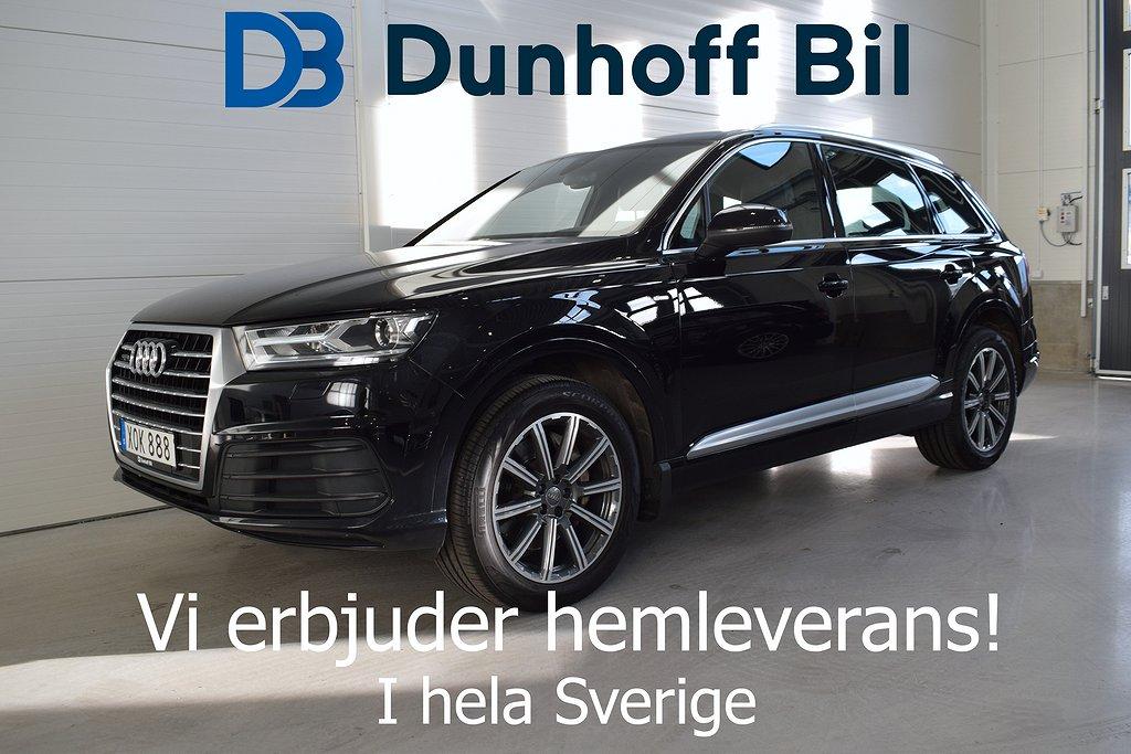 Audi Q7 3.0 TDI V6 ultra quattro S-Line 218hk Värmare Drag