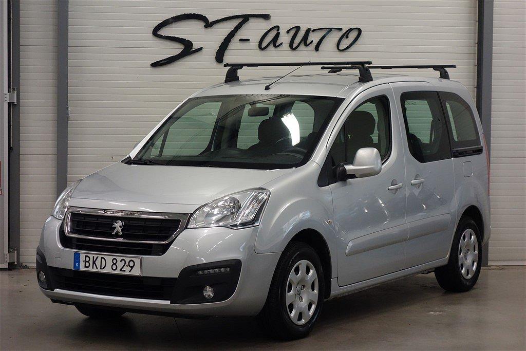 Peugeot Partner Tepee 1.6 BlueHDi 5 Sits 99hk