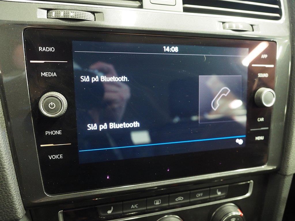 Volkswagen Golf Sportscombi 1.6 TDI Aut Dragkrok 115hk 2018