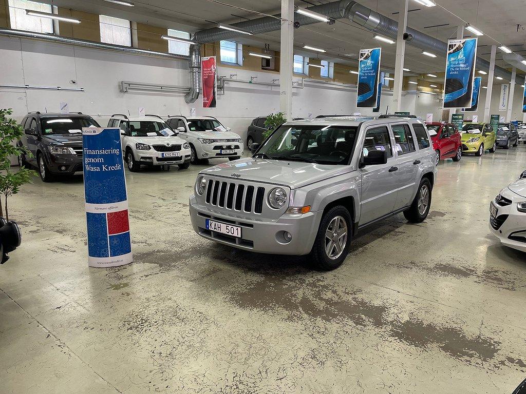 Jeep Patriot 2.4 4WD Ny Servad Dragkrok Välvårdad (170hk)