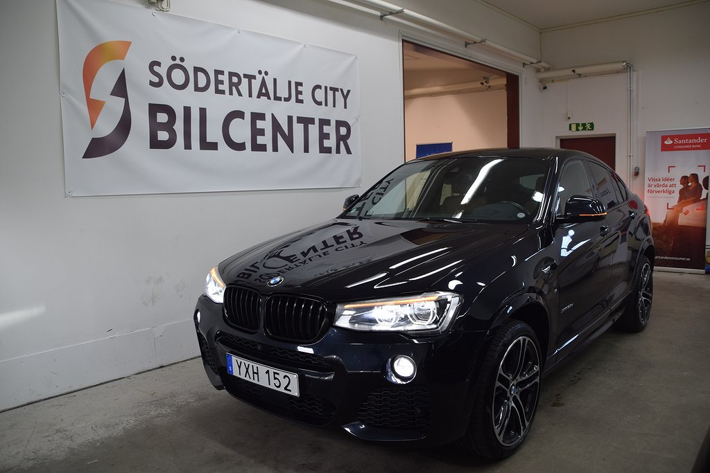 BMW X4 xDrive 30d Steptronic M Sport Euro 6 258HK SVENSKSÅLD