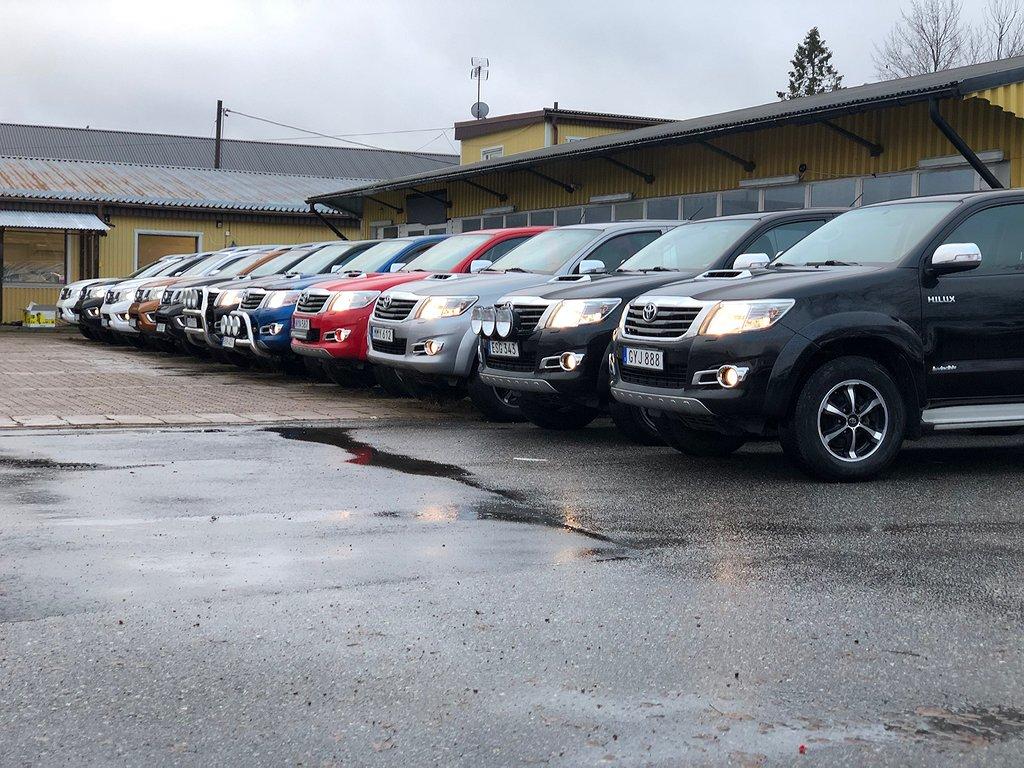 Toyota Hilux AUT 4WD D-CAB LEASING 2.395:-/MÅN