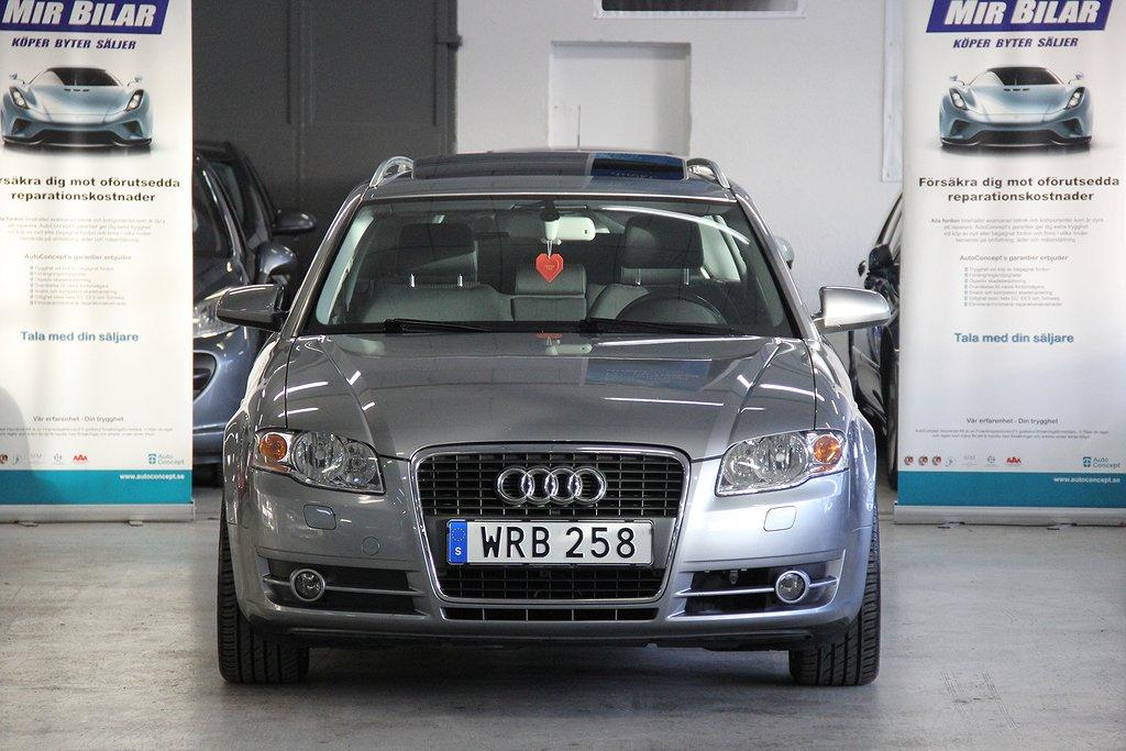 Audi A4 1.8 T AUTOMAT GLASTAKLUCKA DRAG NY BESIKTAD NY SERVAD