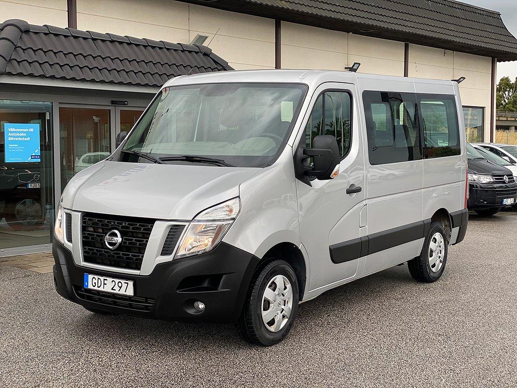 Nissan NV400 Minibuss 2.3 dCi 136hk - Fri hemleverans