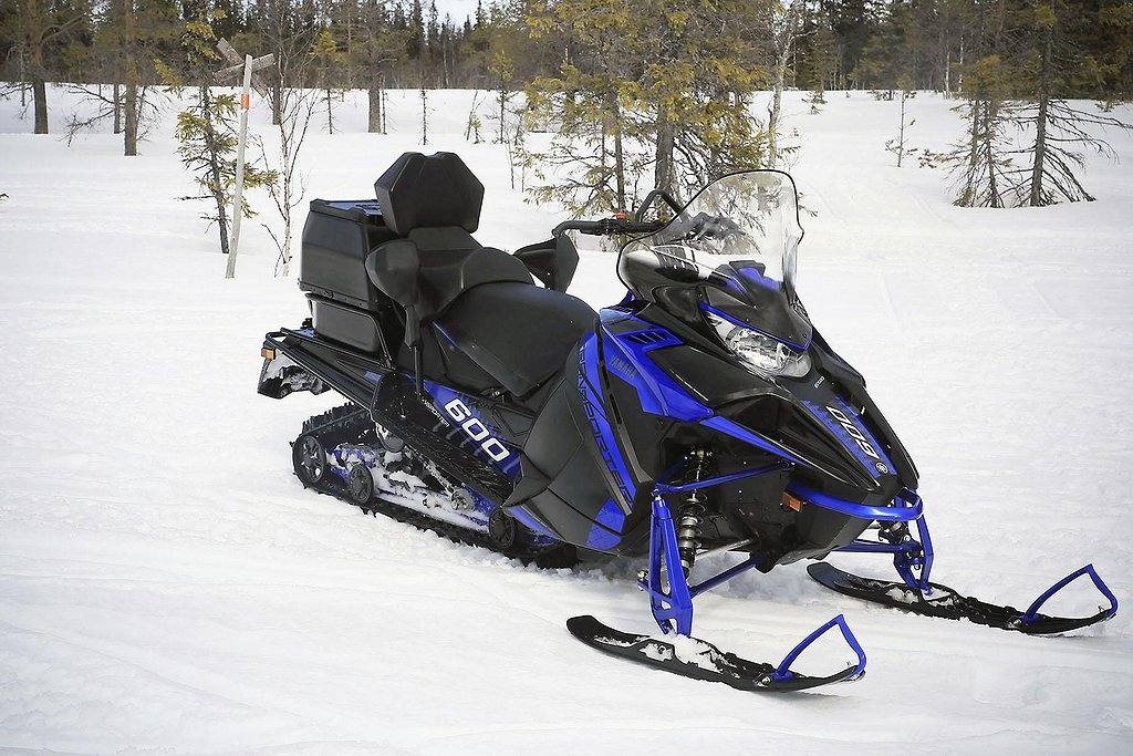Yamaha Transporter 600 inkl dubbeldyna