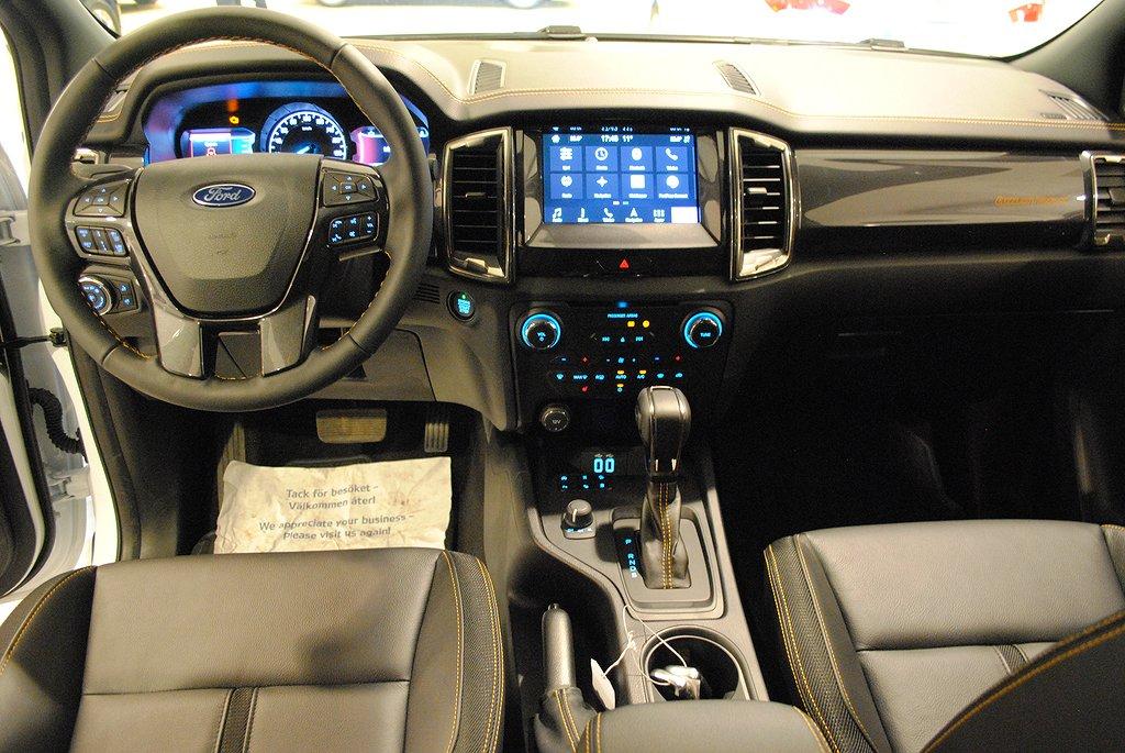 Ford Ranger Wildtrak 2.0 BiTurbo 213hk 10vxl Aut DC
