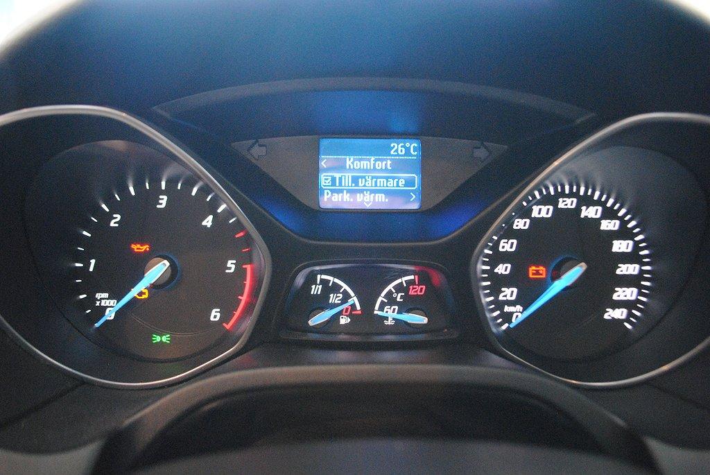 Ford Focus 1.6 TDCi 95hk *Bränslevärmare*
