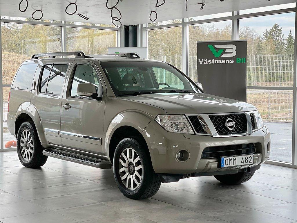 Nissan Pathfinder 3.0 V6 231hk/4WD/Taklucka/7-sits/GPS