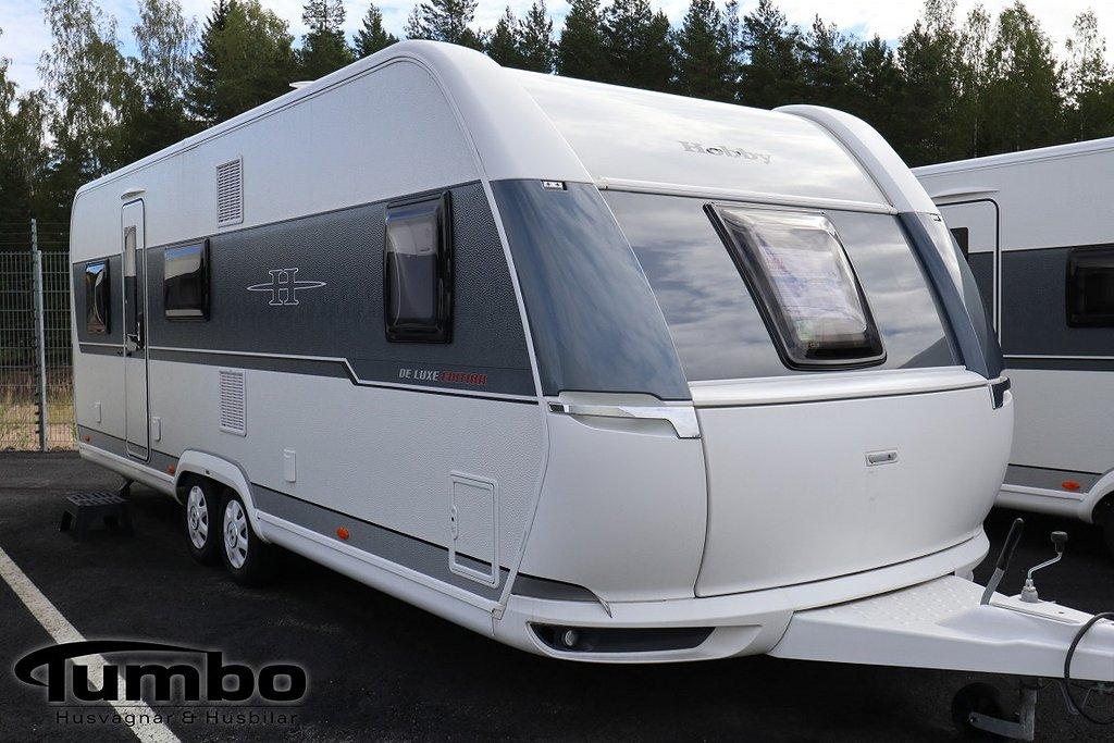 Hobby 650 KMFe De Luxe Edition-Alde-Ugn-3vån-usb-2000kg