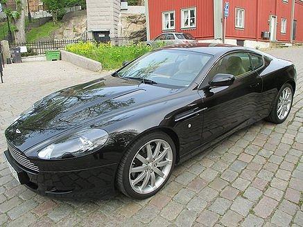 Aston Martin DB9 5.9 V12  Automat 456hk , 3400 mil !