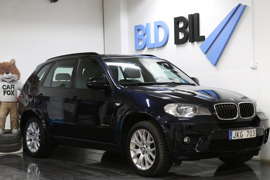 BMW X5 30d AUTO X-DRIVE NAVI DRAG M-SPORT 245HK