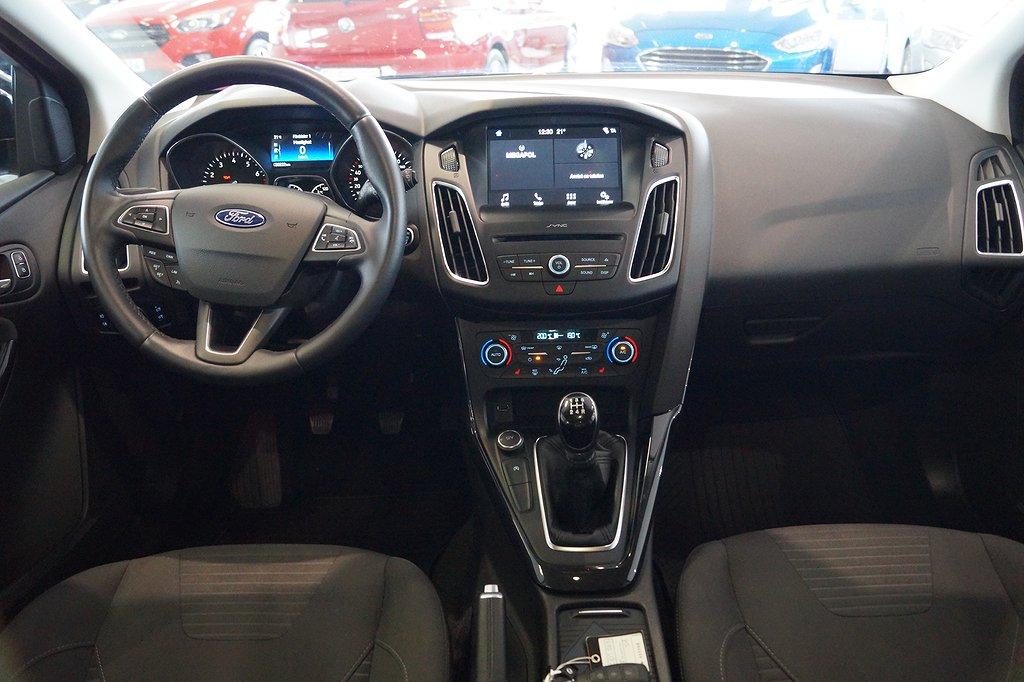 Ford Focus 1.0 EcoBoost 100hk 5dörrar Titanium