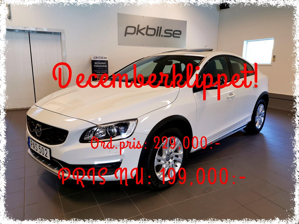 Volvo S60 Cross Country D4 AWD Aut Momentum 190hk
