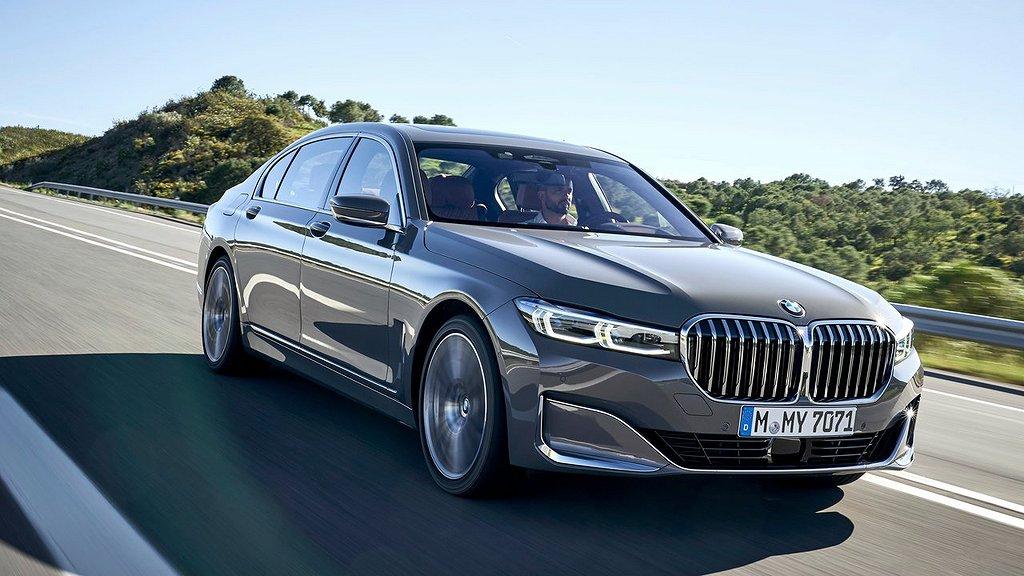 Nuvarande versionen av BMW 7-serien