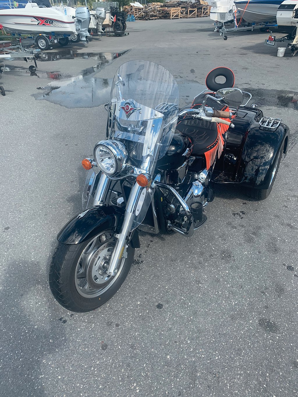 Kawasaki Trike  Kawasaki Vn2000