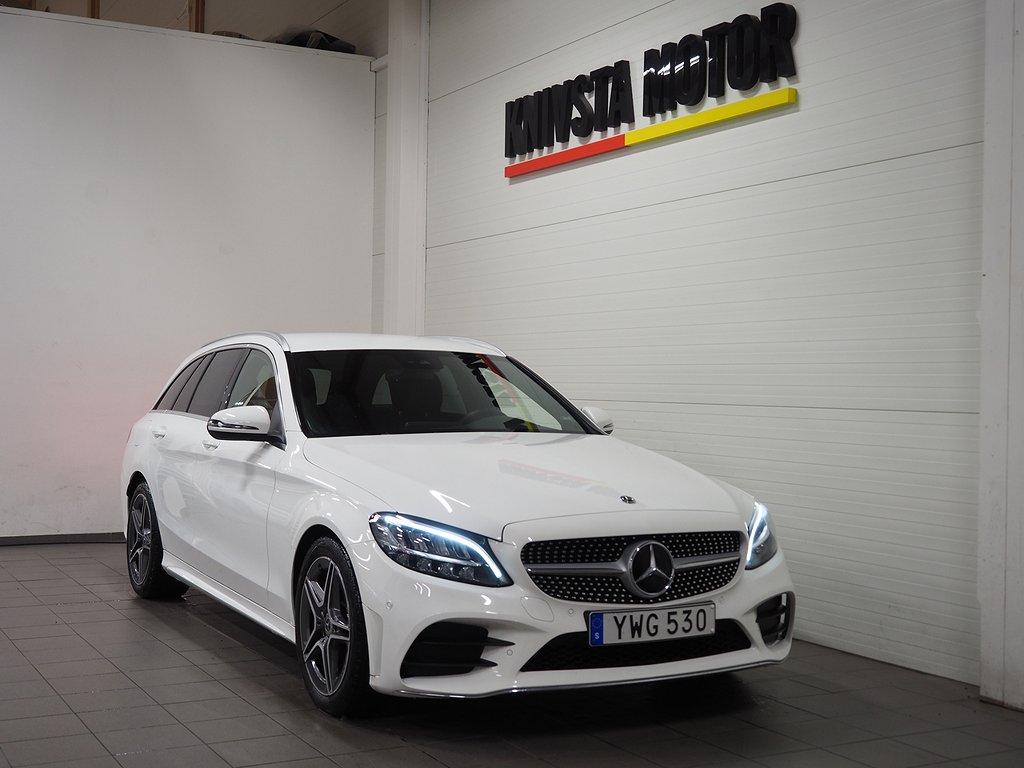 Mercedes-Benz C 200 T d Automat AMG DRAG 6 150hk 2019