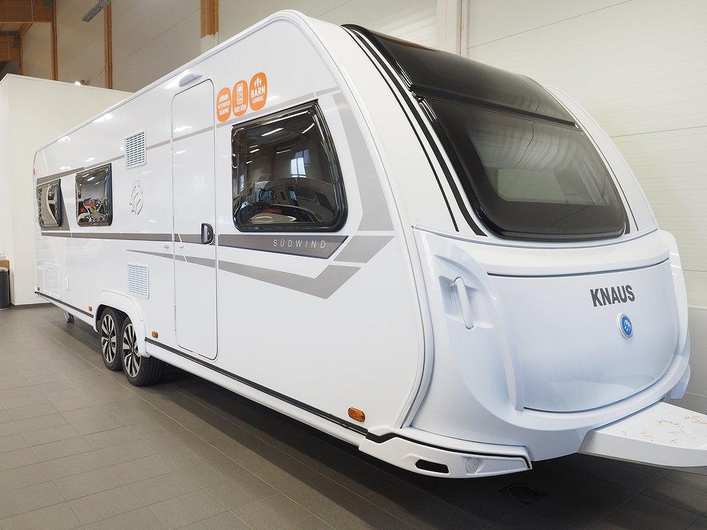 Knaus Sudwind 750 UDF Barnkammare 2020