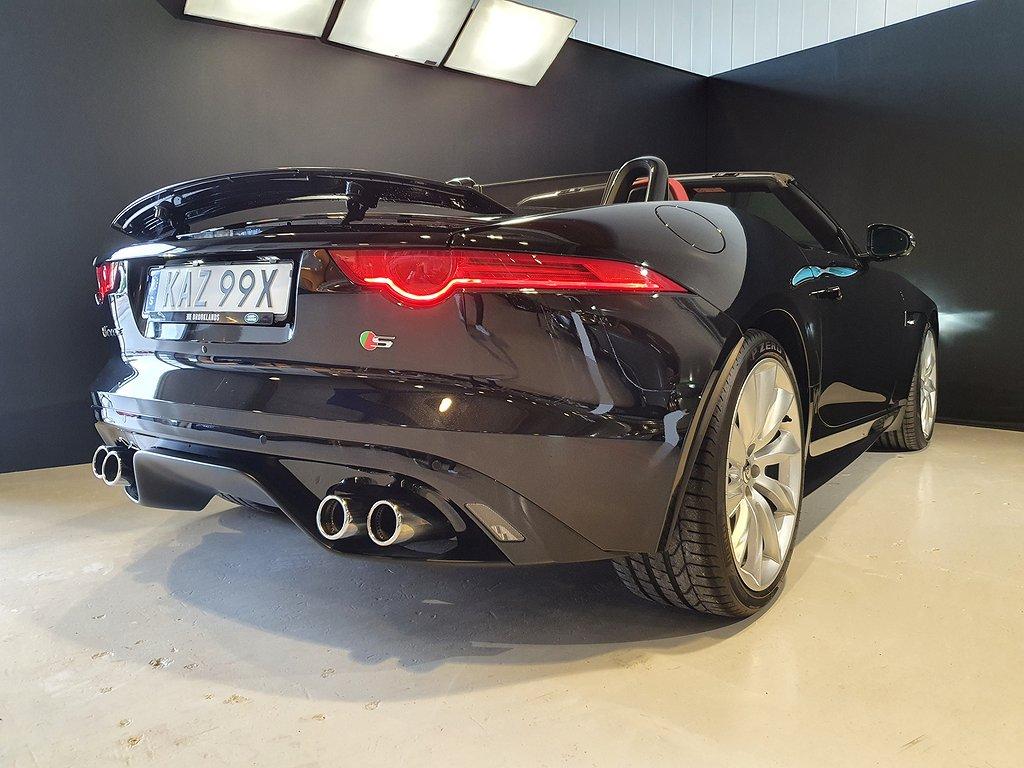 Jaguar F-Type S V8 Convertible 495hk