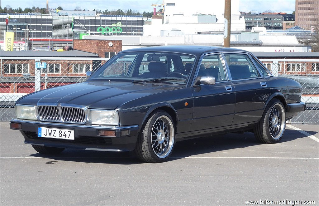 Jaguar XJ Sovereign 4.0 Svensksåld