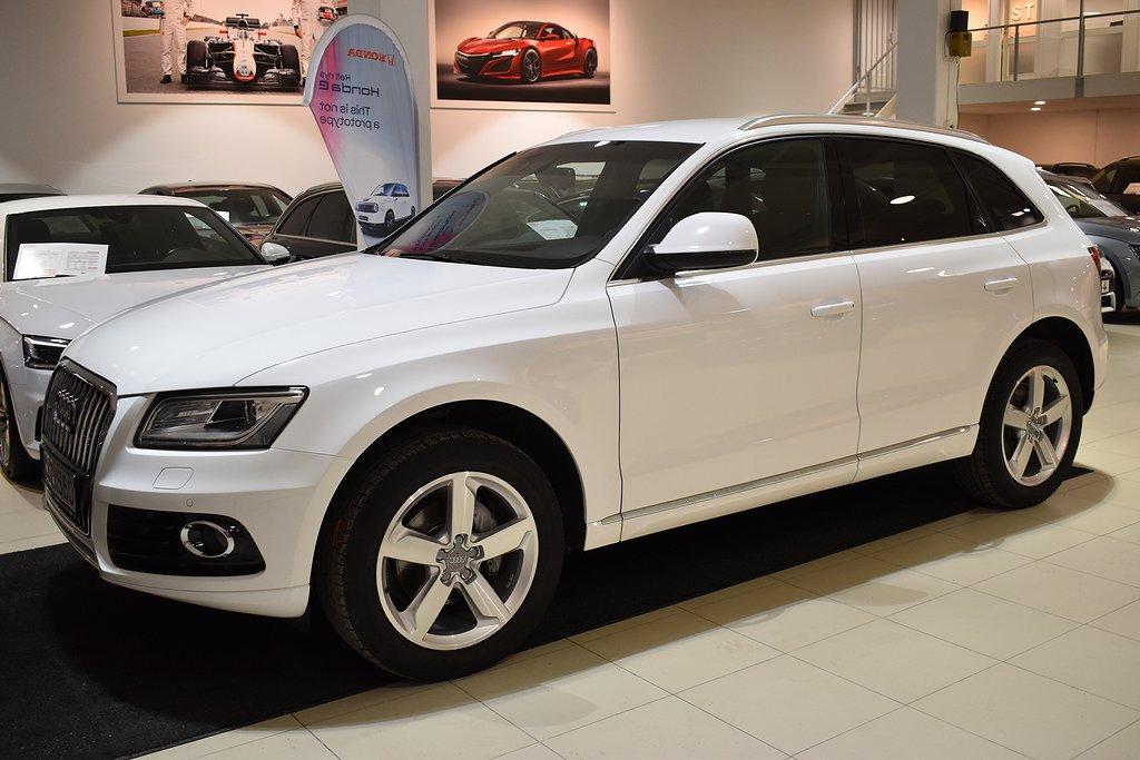 Audi Q5 2.0 TDI q Aut Sports Ed Navi AMI 177hk 1ägare SvSåld