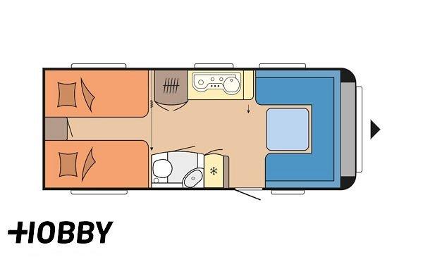 Hobby 560 LU Prestige ALDE