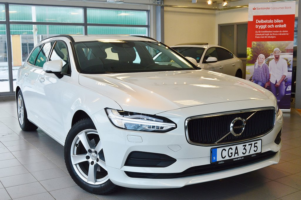 Volvo V90 D3 Geartronic Business Drag GPS LED 1-Ägare EURO-6