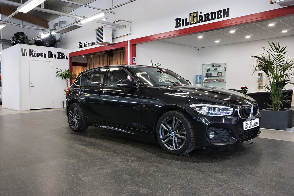 BMW 118 d 5-door Steptronic M Sport Euro 6 150hk