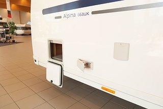 Husvagn, 1-axl Adria Alpina 663 UK 6 av 17