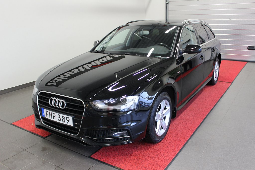 Audi A4, Avant 2.0 TDI S-Line Ext. Sport Plus Euro 6