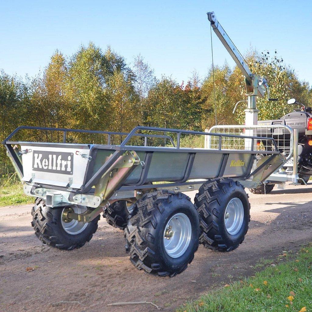 Övrigt Kellfri Tipp- och skogsvagn ATV PRO