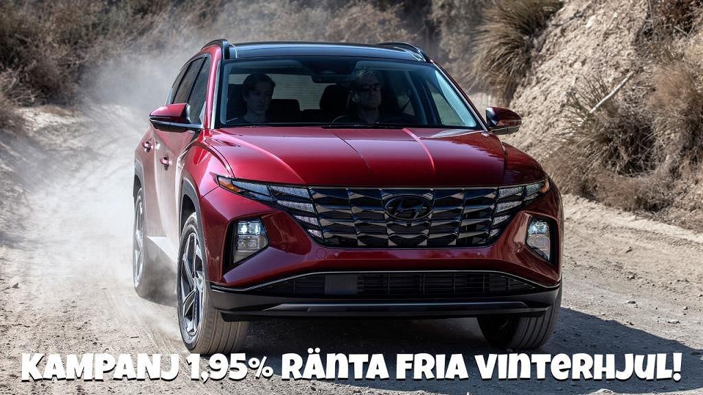Hyundai Tucson 1.6T PLUG-IN 4-WD ADVANCED KAMPANJ 1.95% RÄNTA
