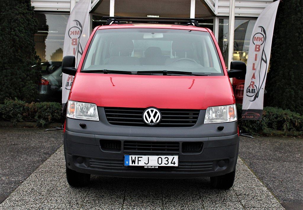 Volkswagen Shuttle 2.0 115hk 8 Sits