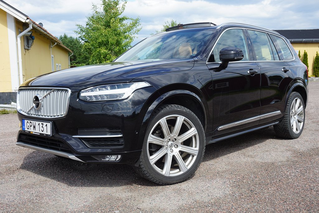 Volvo XC90 D5 AWD Aut First Edition Euro 6 7-sits 225hk