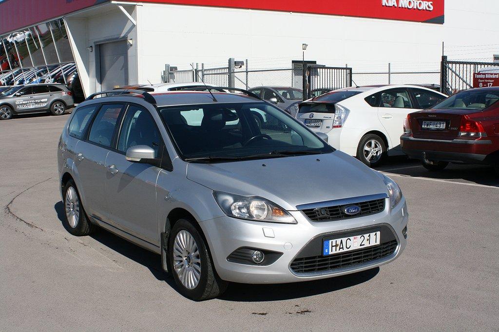 Ford Focus Combi 1.8 Duratec Flexifuel 125hk