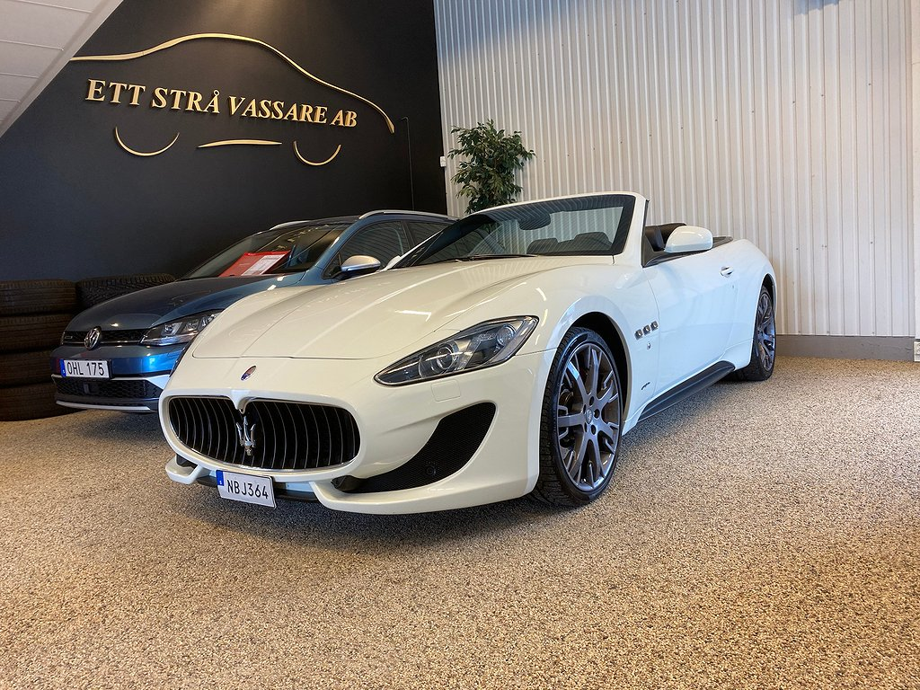 Maserati GranCabrio Sport  MC-Shift SV-Såld